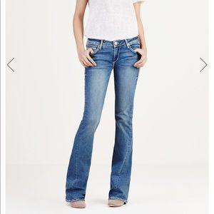 True Religion | Joey Super T Flare Jeans Size 24
